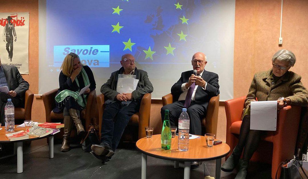 Soirée de Savoie Nova à Aix-les-Bains sur les 30 ans de la chute du Mur de Berlin