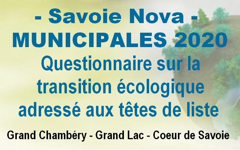 Savoie Nova s'investit dans la transition écologique