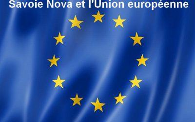 Savoie Nova et l'Union Européenne