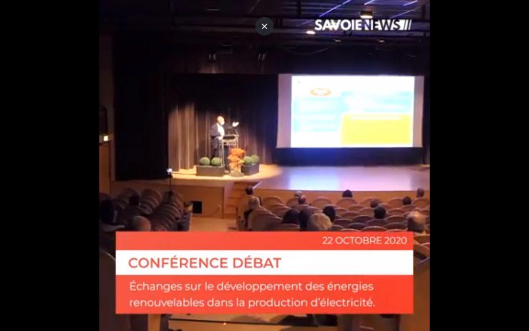 Conférence-débat sur le développement des énergies renouvelables dans la production d'électricité